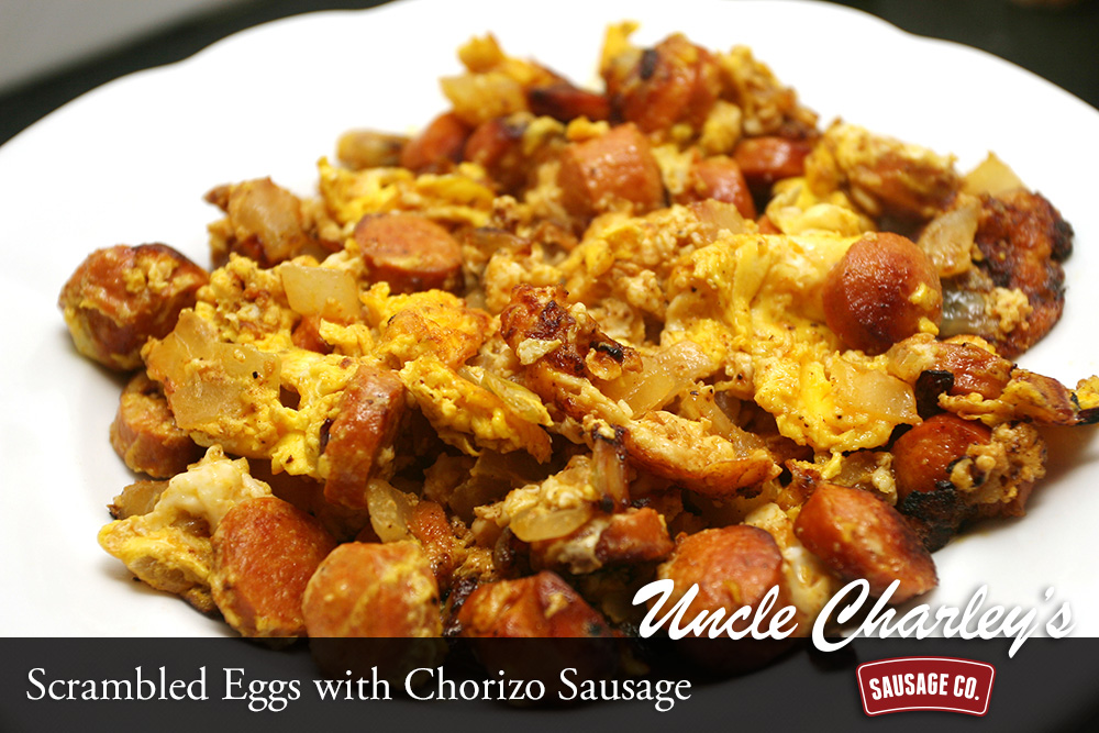 Chorizo Scrambled Eggs Scrambled Eggs With Chorizo