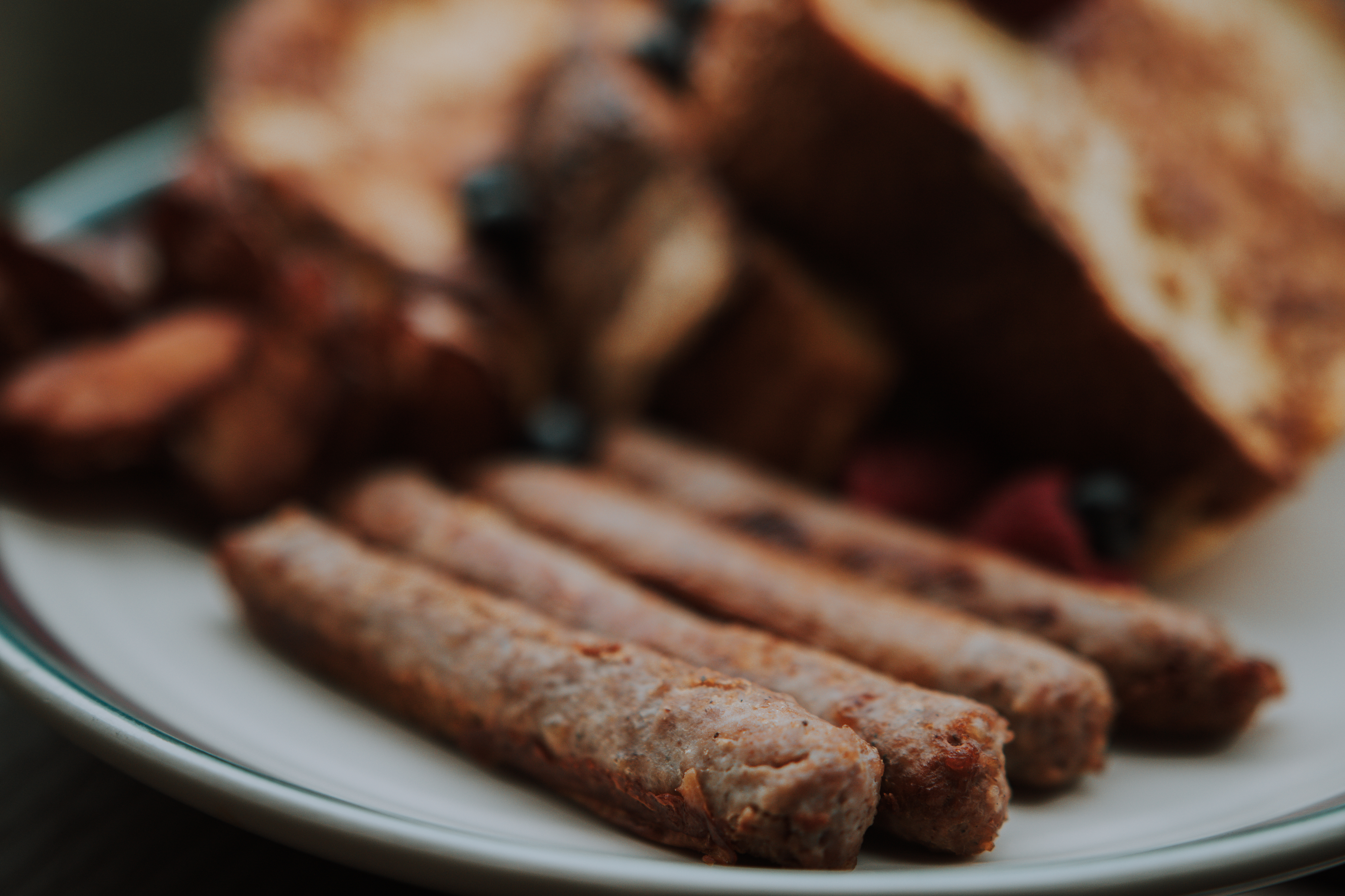 The perfect breakfast in bed recipes using Uncle Charley's Sausage.