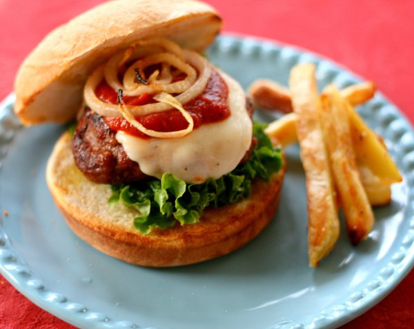 Uncle Charley's Little Italy Burger